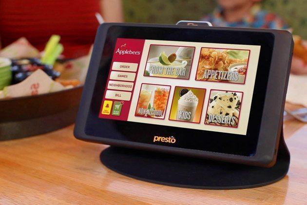 Applebee's Presto Menu System