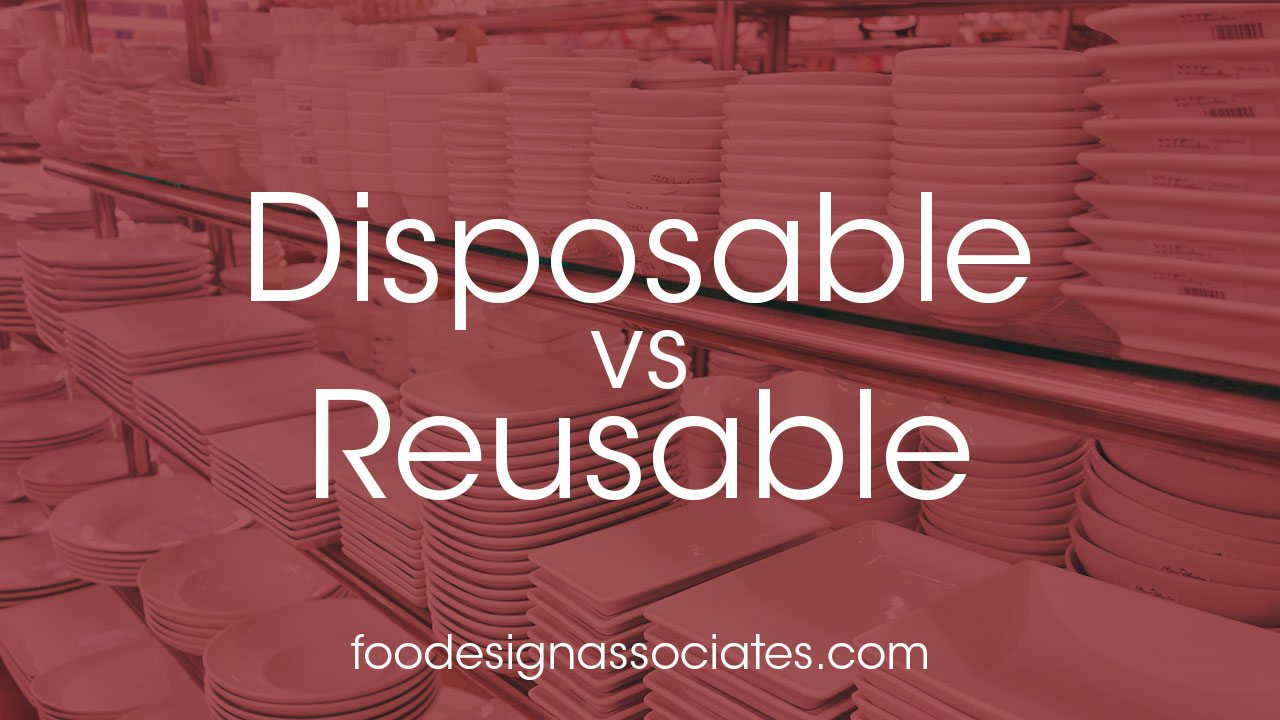 disposables versus reusables